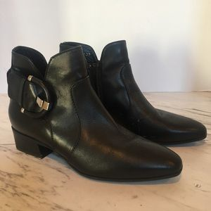 Aquatalia Leather Booties